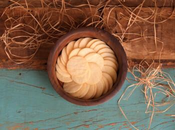 Cracker de arroz de jasmim