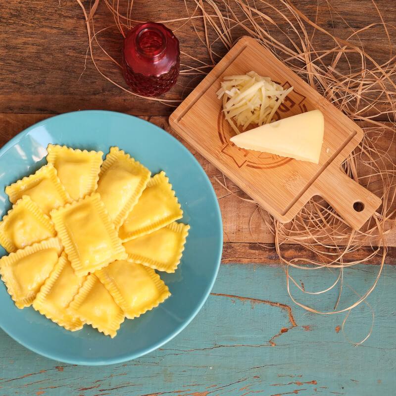 Ravioli quatro queijos