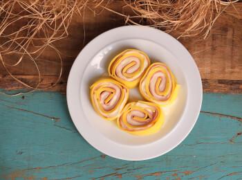 Rondelli presunto e queijo
