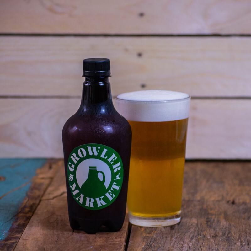 Cerveja IPA Growler Market - 500ml (gelada)