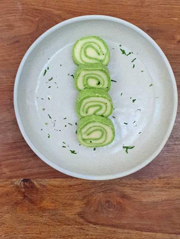 Rondelli verde quatro queijos