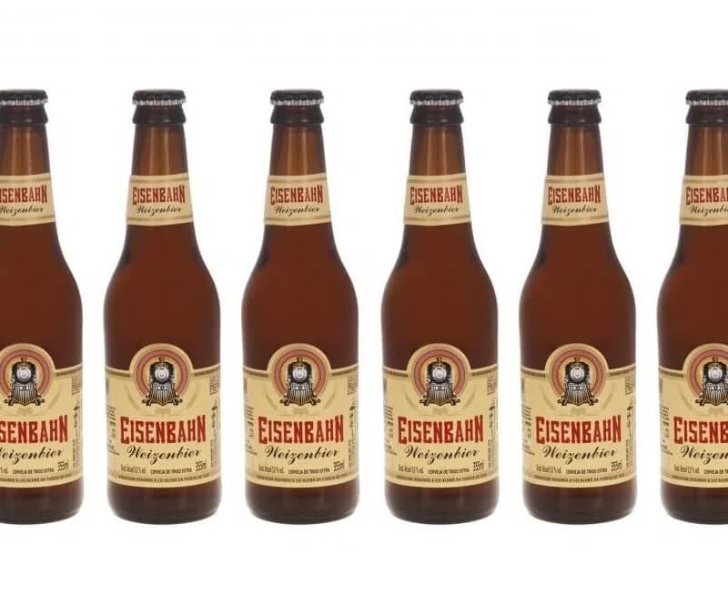 Cerveja Eisenbahn Weizenbier Long Neck (355ml) 6-Pack
