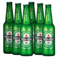 Cerveja Heineken Long Neck 330ml 6-Pack